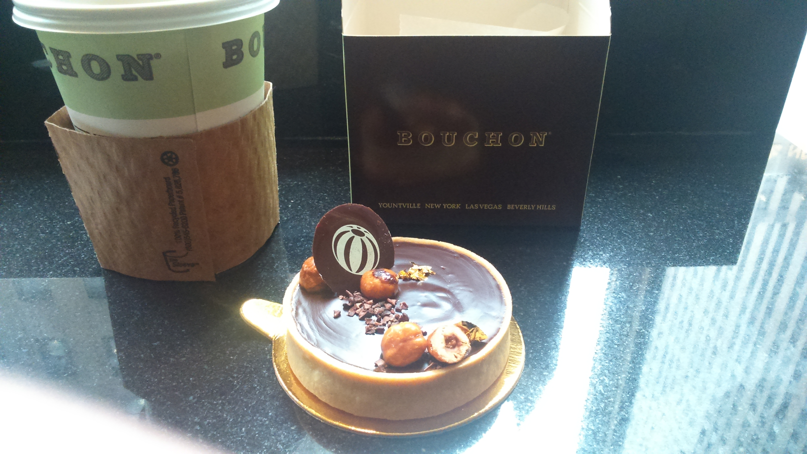 Chocolate and Hazelnut Tart, Bouchon Bakery